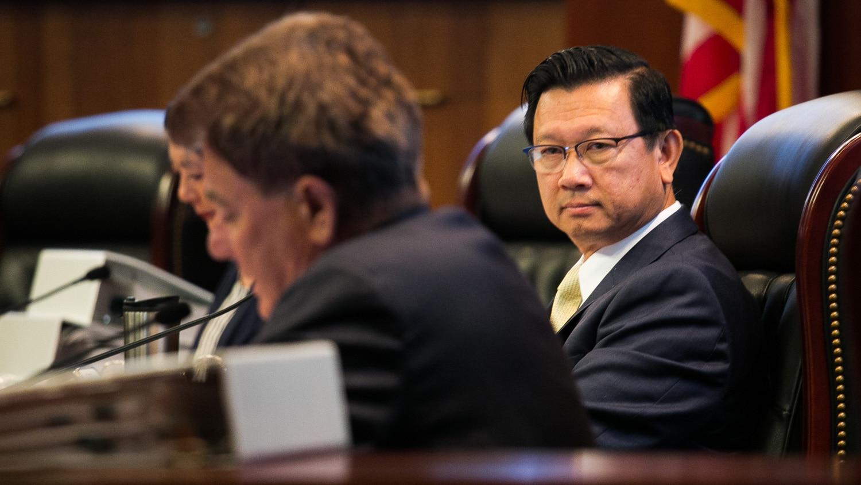 Orange County board of supervisor Andrew Do