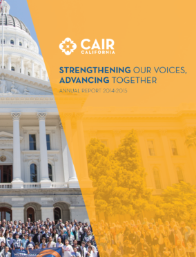 CAIR CA Annual Report 2014-2015
