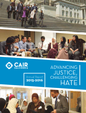 CAIR CA Annual Report 2015-2016