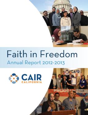 CAIR CA Annual Report 2012-2013