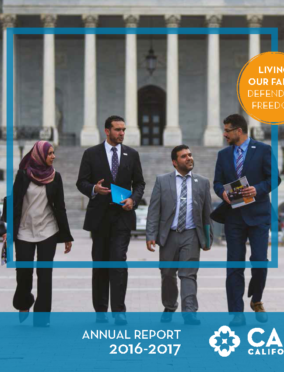 CAIR CA Annual Report 2016-2017
