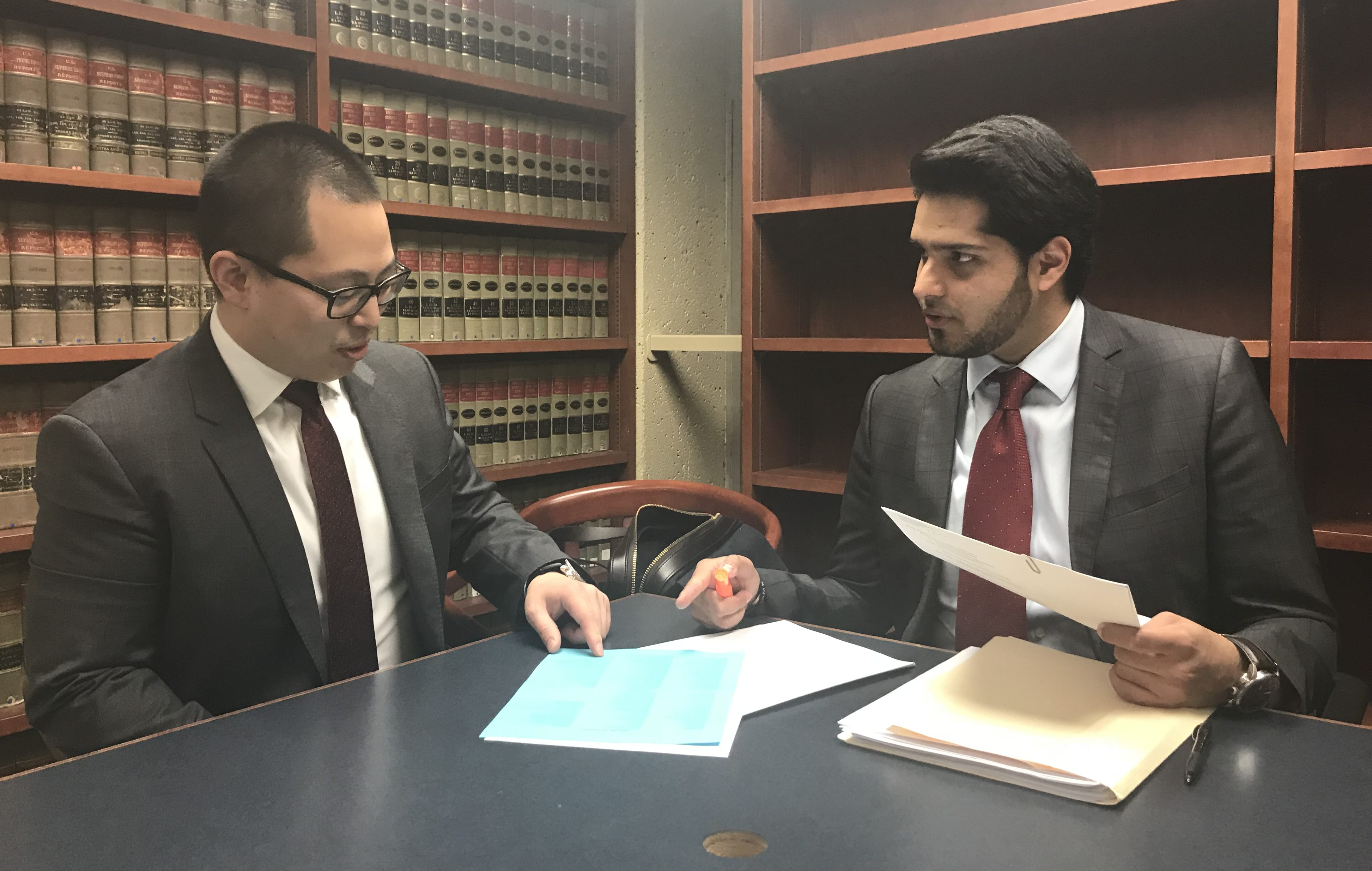 CAIR-SFBA Legal Services Staff Reviewing Documents
