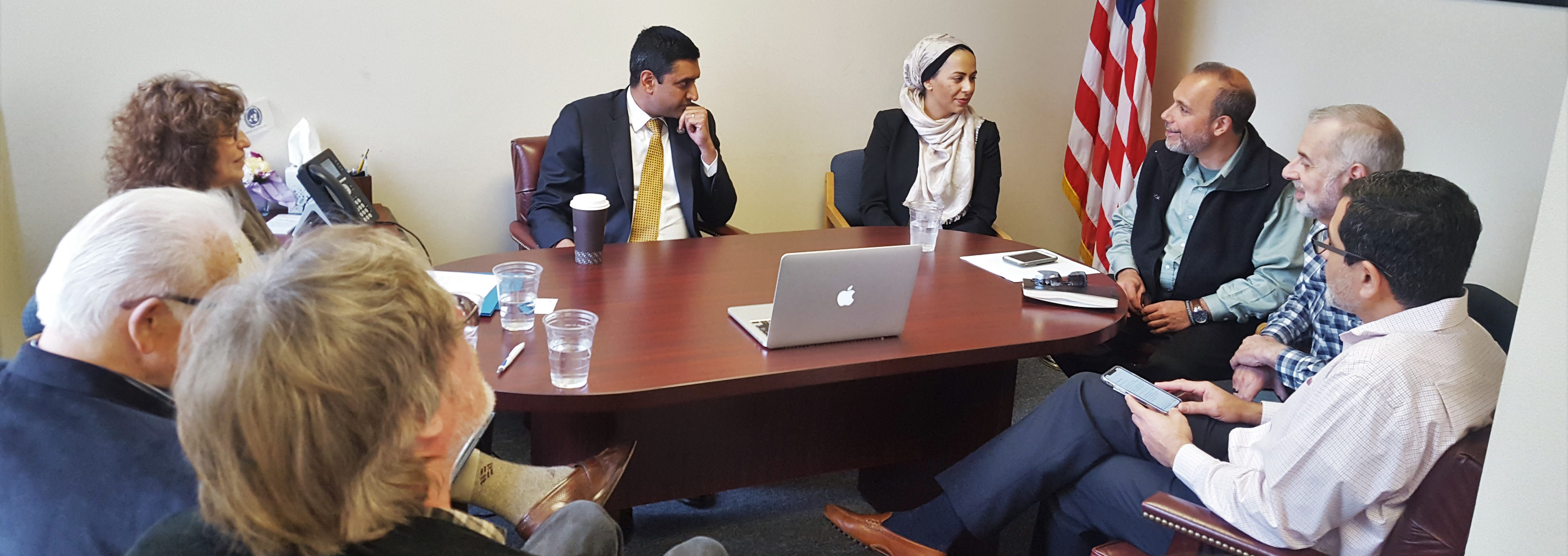 Constituent Meeting with Congressman Ro Khanna