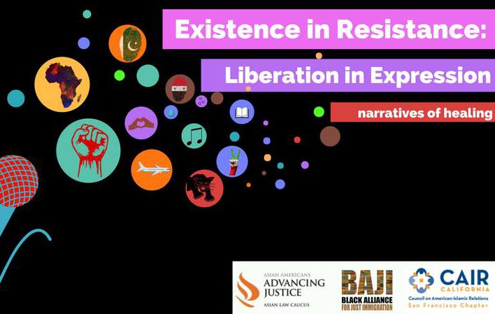 Existence in Resistance, Liberation in Expression Community Open Mic