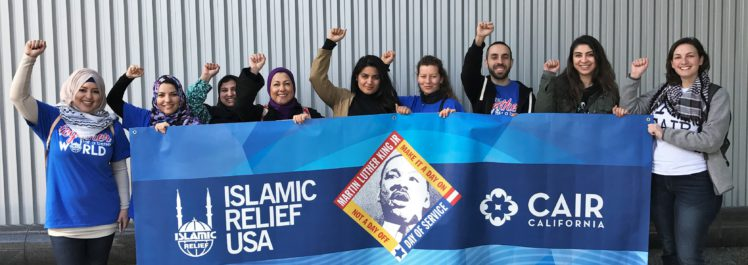 CAIR-SFBA and Islamic Relief, MLK March 2017