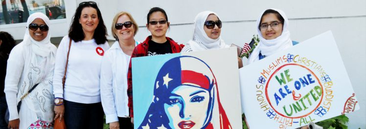 Attendees at a CAIR-SFBA co-sponsored Unity Rally in San Jose