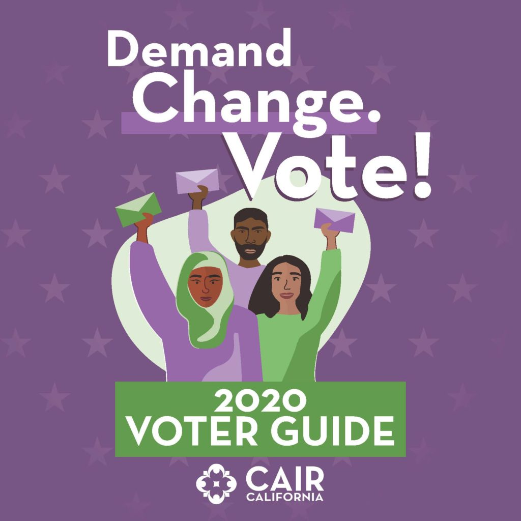 Demand Change. Vote! 2020 Voter Guide Cover
