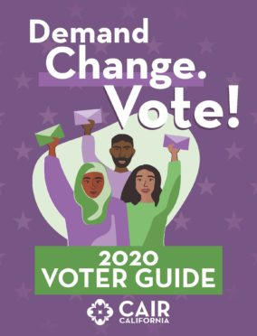 CAIR 2020 Voter Guide Cover Page