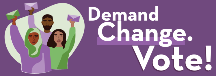 Demand Change. Vote!